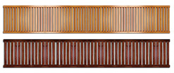 John Louis Home Ventilated Wood Shelving 16 In., Paradise Closets and Storage