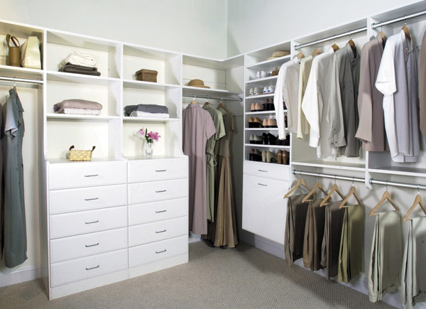 custom designed walk-in closets, Paradise Closets and Storage, Ft Walton Beach, FL